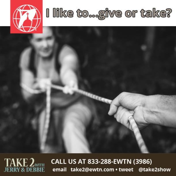 T2 Aug 9-give-take